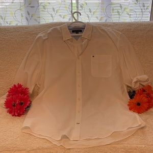 Tommy Hilfiger men's cotton XXL long sleeve shirt